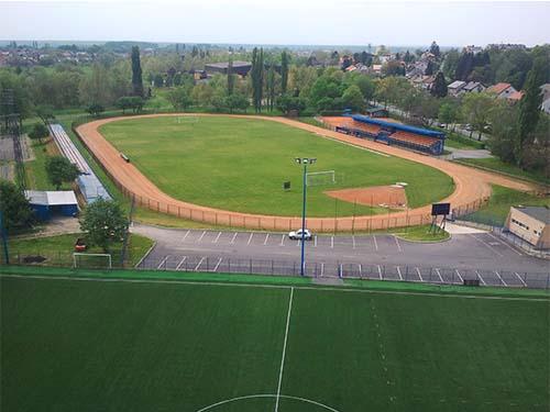 Pogled na stadion