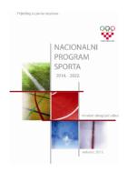 Nacionalni program sporta 2014. – 2022.